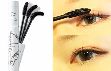 韓國睫毛膏界開啟新熱潮◆賣到缺貨的三段式旋轉刷頭睫毛膏