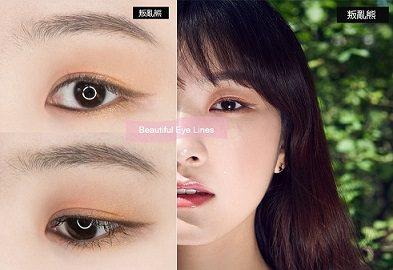 男友一定會驚嘆「 怎麼這麼美」♡韓妞今年夏天都在畫粉X橙眼妝