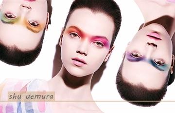 炫彩東京100色眼影,植村秀打造繽紛夏日妝容☼☼☼