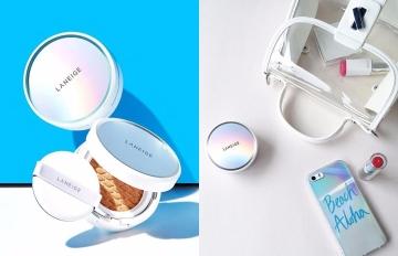 韓妞也瘋搶!蘭芝全新系列氣墊粉餅再升級 3D菱格氣墊超吸睛!