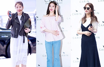 從「國民初戀 」到「 國民女神」♥完美消化各種Style的秀智穿搭史