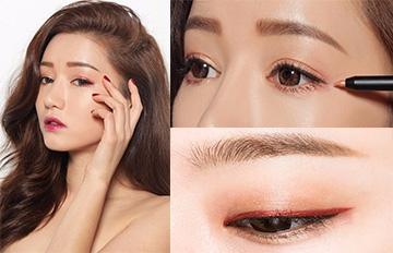 黑色、棕色眼線早就OUT了!韓妞熱推的6款夏日彩色眼線筆