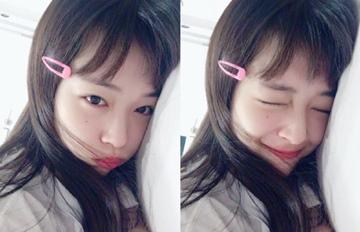 剪了「雪莉短瀏海」後 成為韓網友新一代女神的女偶像?