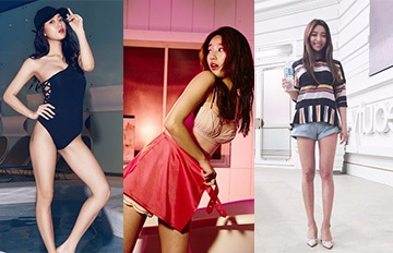 女神甚至比你還胖過 tvN公開擁有CG身材偶像的減肥食譜和運動