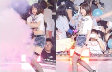 Hani受到驚嚇一個move!超性感舞蹈原來還有這樣的用途?