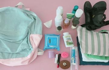 旅行收納有一套:超實用背包收納法 一個後背包竟能裝下這麼多東西!