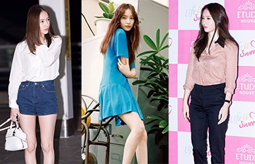 Krystal夏季私服搭配LOOK④ 學會馬上變身獨特的Fashion Girl