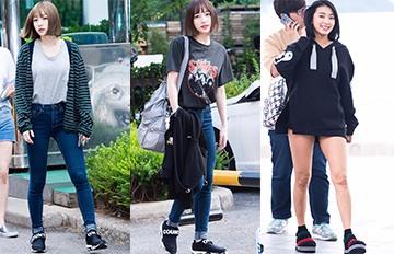 哈妮最近上班路都在穿 孔孝真代言潮人點名的韓國本土鞋牌