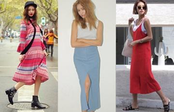 拒絕小腿粗!最好看最時尚的長裙都在這裡☆