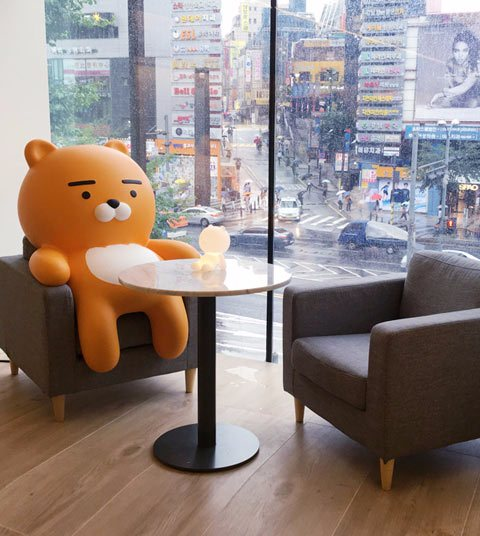 首爾最新熱門景點!韓妞新寵RYAN獅在江南等你喔♥