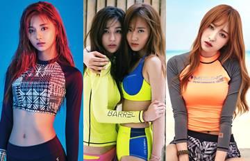 票選夏日防曬衣大賽 6人氣女團誰是你的心頭好?