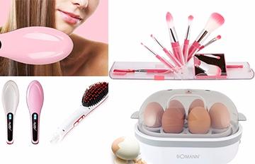 直板夾梳、自動蒸蛋器…韓國最大化妝品平台正熱賣的9個小物