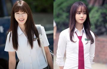 人氣韓劇女主角穿上校服  粉絲驚嘆「難怪只要有她們劇就會紅!」
