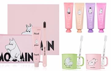 每天刷10次牙都嫌少!韓國推出嚕嚕米牙膏牙刷套裝 讓你每天都期待刷牙