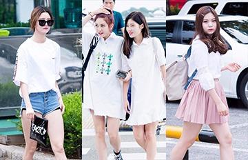 百搭清爽、又顯白 夏天你一定要學會韓妞的白色系單品穿搭術