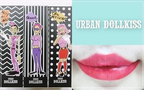 【歐膩評價】Urban Dollkiss超顯色唇彩 萬聖節彩妝非它莫屬!