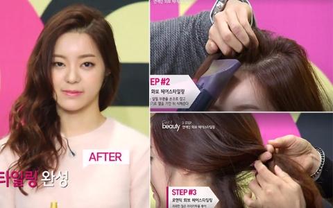 手殘女孩也OK!韓國髮型師親示 性感&浪漫兩種風格的偶像畫報髮型