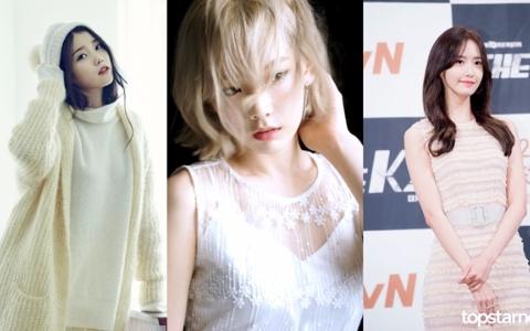 「韓國男生的理想型女藝人TOP10」果然上榜的都有「女神仙氣」啊XD~來看看韓國男的理想型是誰吧!