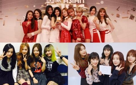 「2016人氣火爆的六組女團」各種SNS大比拚!大家追蹤了嗎?
