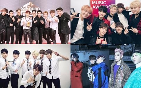 2017年 韓國網友最期待的「經紀公司&偶像」TOP5 上榜的是大家期待的組合嗎?