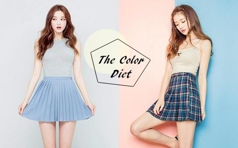 減肥人生是黑白的?懶人必知、照著做就能甩肉的神奇「顏色減肥法」
