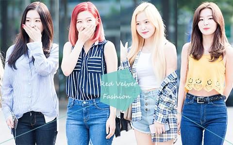 Red Velvet最新私服穿搭趨勢♫學會你也可以擁有「偶像Style」