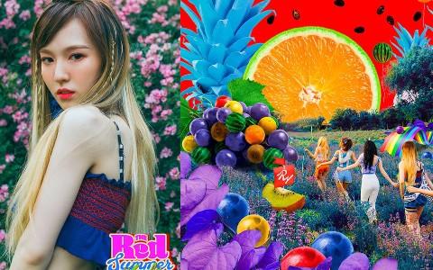 Red Velvet回歸照公開 Wendy卻撞臉同團成員 相似度高達90% 就連粉絲也讚嘆「真的非常像」