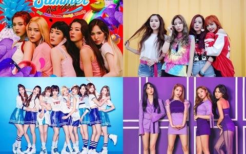 韓網舉行《1萬名網友所選擇的最喜歡的女團》的TOP10結果出爐!第一名竟再度又是「她們」