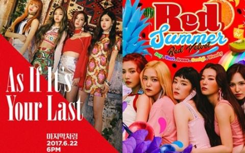 《2017觀賞次數TOP10的女團MV》怪物新人BLACKPINK竟在短短1個月超過「她們」發行2個月的成績!?