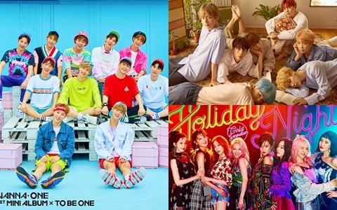 最新!男女團官咖粉絲人數排名TOP10 WANNA ONE 竟超越「這些前輩」直登「第X名」?
