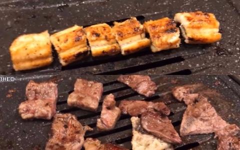 韓國網友推薦 再次挑戰韓國最低價~!!499台幣牛肉+鰻魚吃到飽~!(無限鰻牛特輯~!!)
