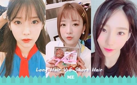 女神造型大PK!10位女星長髮V.S短髮你最愛哪一個?