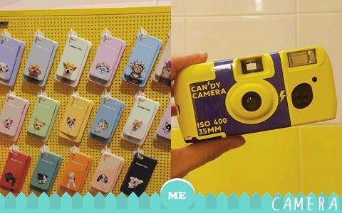 不再用手機拍照了!跟趙權一起用複古的糖果系膠卷相機!