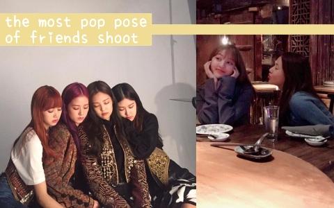 關係夠好才能這樣玩!10款韓星SNS都在曬的熱門朋友照!