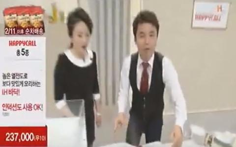韓國電視購物「史上最糗」放送事故!證明真的是現場直播啊