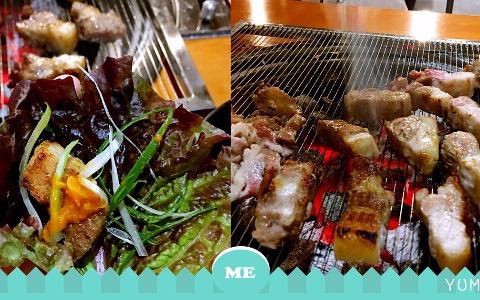 高品質炭火烤肉還可以三種無限續加!性價比超高的江南人氣烤肉店