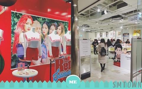 迷妹看到要暴動了!到韓國一定要去的SM旗下的SMTOWN@coex artium~