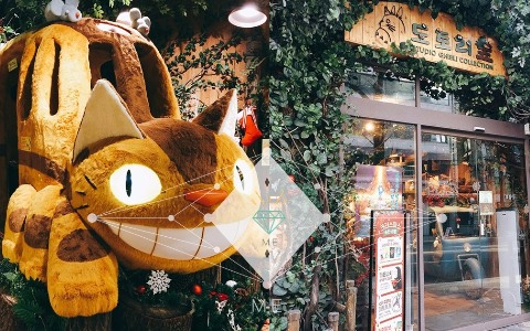 在韓國也能買到吉卜力精品!一進店瞬間掀起好多回憶!