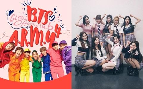 大家都認證啊!韓網選出最能代表2017的五個男女團  每團在韓國都很紅啊!