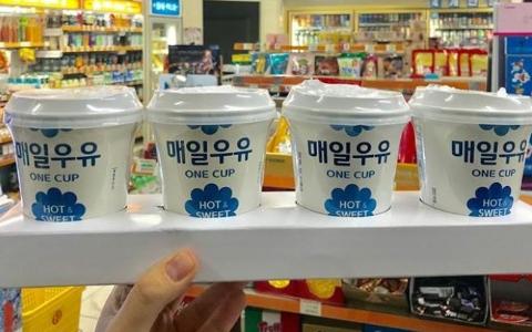 韓國7-11限定熱賣!2018年最夯「打卡飲料」沖泡熱牛奶…造型可愛到翻啊