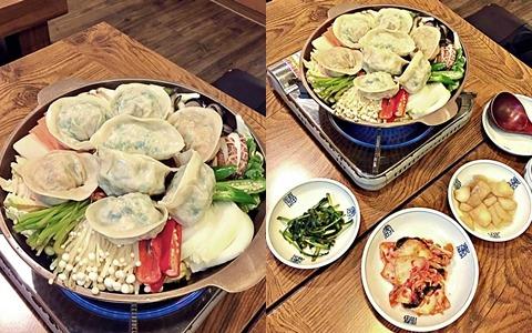 三清洞老店罐頭餃子,在韓國原來還有餃子火鍋這種美食!