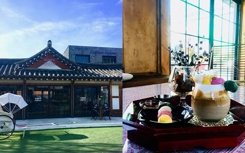 現代咖啡廳去膩了?1987兩班家精緻設計讓你體會韓式復古!