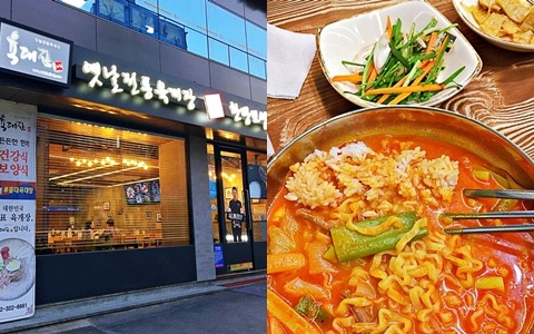 來首爾玩到凌晨肚子餓也不用怕!弘大這家24小時always open等著你的傳統辣牛肉湯實在好吃!