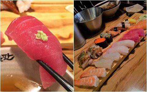物美價廉的明洞「壽司一板」 一萬韓元吃到飽的美味壽司套餐