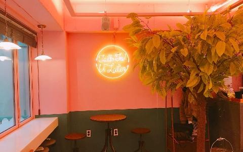 弘大必去網美咖啡再+1!!隱身在延南洞巷弄裡的粉紅咖啡廳TTUL!