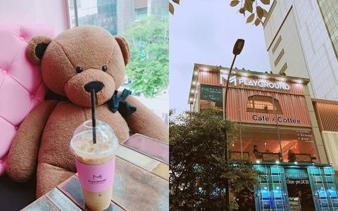 弘大新村必逛平價服飾店「M PLAYGROUND」超美咖啡廳新開幕啦!