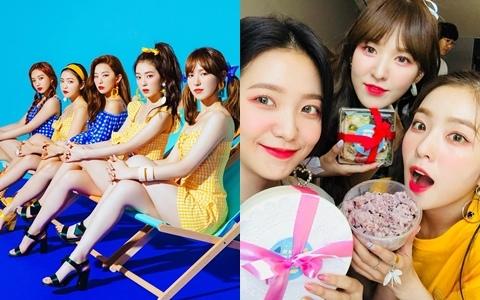 5人5色的Red Velvet成員居然也互相「撞臉」?韓網友神組圖...真的完全「無違和」阿!