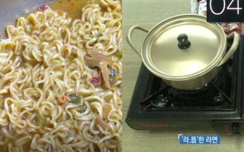 關鍵的一分鐘!韓國節目測試多「1個步驟」就可以讓泡麵更好吃!