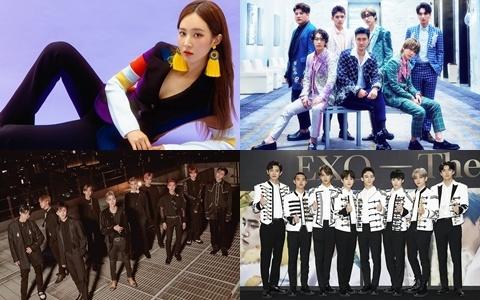 十月回歸的藝人「超過10組」!其中SM就占了4組!除此之外...大咖藝人們更是搶著「SOLO出輯」!