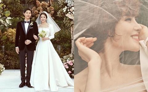 相戀五年終於結婚...《太陽的後裔》繼宋宋夫婦後又傳好消息!她的歌每首都是經典阿!